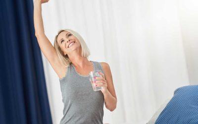 Ritenzione idrica in menopausa: perché accade e come combatterla