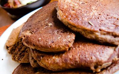 Pancake di Grano Saraceno alla Cannella